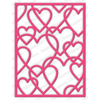 Impression Obsession - Dies - Layered Heart Frame
