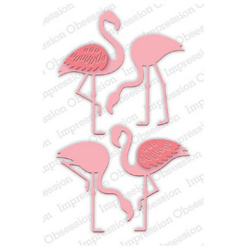 Impression Obsession - Dies - Flamingo Set