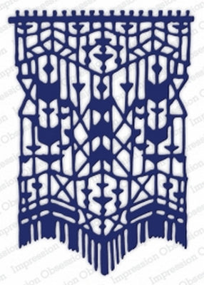 Impression Obsession - Dies - Macrame Background