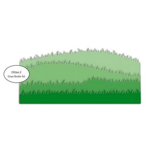 Impression Obsession - Dies - Grass Border Set