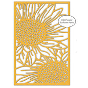 Impression Obsession - Dies - Sunflower Frame 1