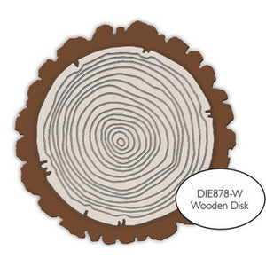 Impression Obsession - Dies - Wooden Disk