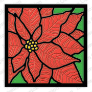 Impression Obsession - Dies - Poinsettia Frame
