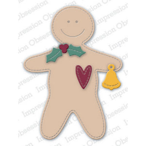 Impression Obsession - Dies - Primitive Gingerbread