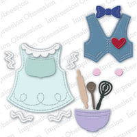 Impression Obsession - Dies - Pirmitive Gingerbread Accessories