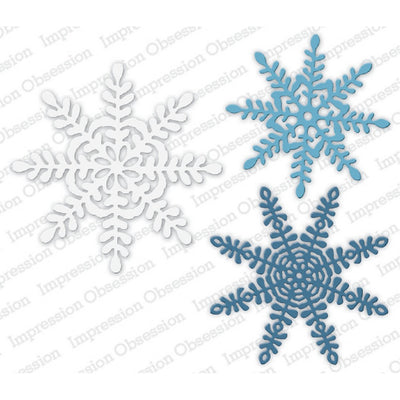 Impression Obsession - Dies - Primitive Snowflakes