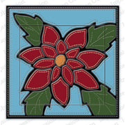 Impression Obsession - Dies - Quilted Poinsettia
