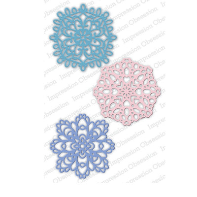 Impression Obsession - Dies - Winter Doilies
