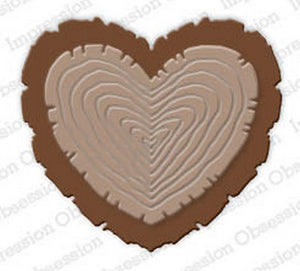 Impression Obsession - Dies - Wooden Heart