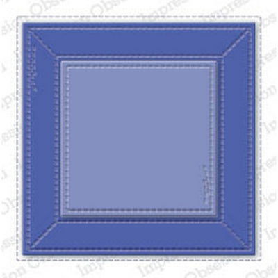 Impression Obsession - Dies - Stitched Square Frame