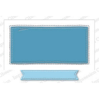 Impression Obsession - Dies - Whimsical Rectangle