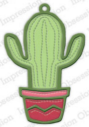 Impression Obsession - Dies - Cactus Tag