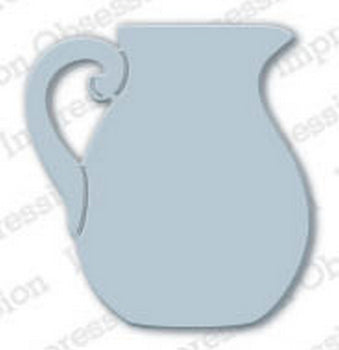 Impression Obsession - Dies - Porcelain Pitcher