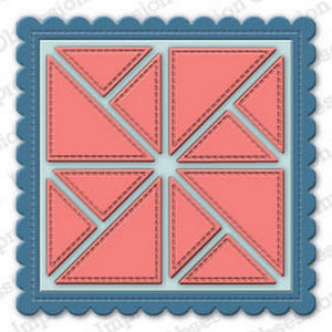 Impression Obsession - Dies - Scalloped Pinwheel