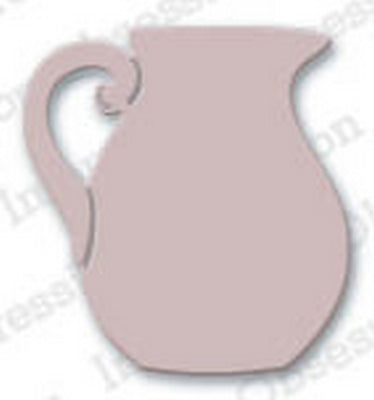 Impression Obsession - Dies - Small Porcelain Pitcher