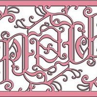 Cheery Lynn Designs - Lace Peace Frame