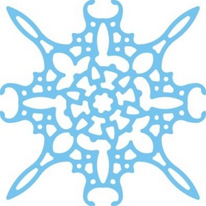 Cheery Lynn Designs - Large Snowflake