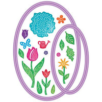Cheery Lynn Designs - Doily Companion Oval