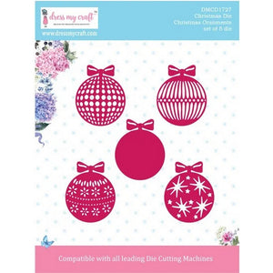 Dress My Craft - Dies - Christmas Ornaments