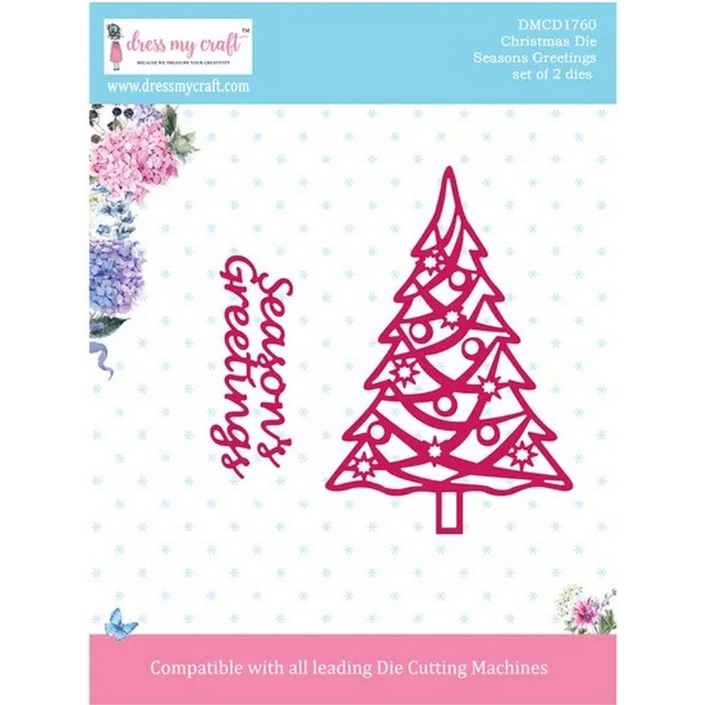 Dress My Craft - Dies - Season's Greetings