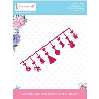 Dress My Craft - Dies - Christmas Strings