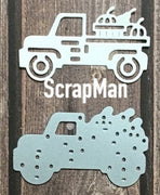 ScrapMan - Dies  - Auto With Harvest