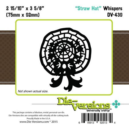 Die-Versions - Whispers - Straw Hat