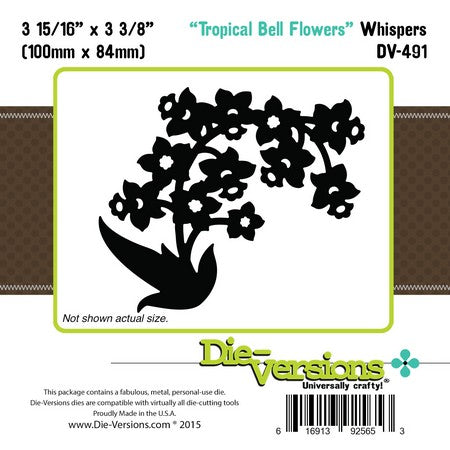 Die-Versions - Whispers - Tropical Bell Flowers