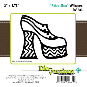 Die-Versions - Whispers - Retro Shoe