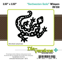 Die-Versions - Whispers - Southwestern Gecko