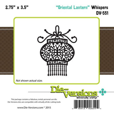 Die-Versions - Whispers - Oriental Lantern