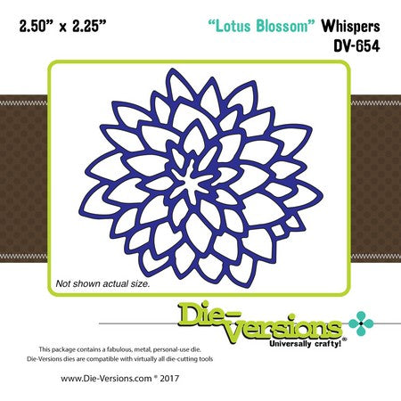 Die-Versions - Whispers - Lotus Blossom