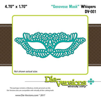 Die-Versions - Whispers - Genovese Mask
