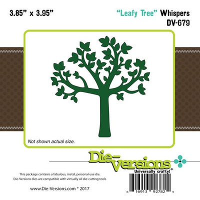 Die-Versions - Whispers - Leafy Tree