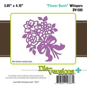 Die-Versions - Whispers - Flower Bunch