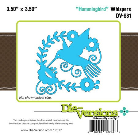Die-Versions - Whispers - Hummingbird