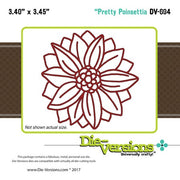 Die-Versions - Whispers - Pretty Poinsettia