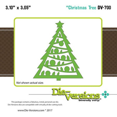 Die-Versions - Whispers - Christmas Tree