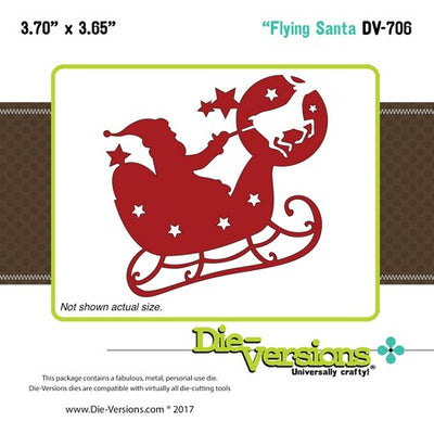 Die-Versions - Whispers - Flying Santa