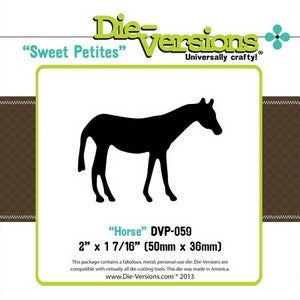 Die-Versions - Sweet Petites -  Horse