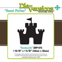 Die-Versions - Sweet Petites -  Sandcastle