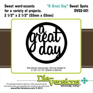 Die-Versions - Sweet Spots - A Great Day