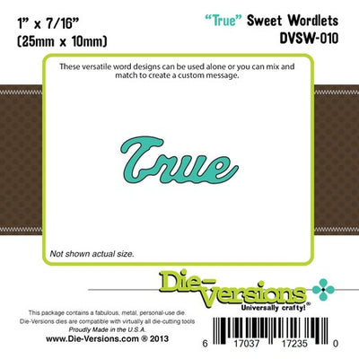 Die-Versions - Sweet Wordlets - True