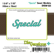 Die-Versions - Sweet Wordlets - Special