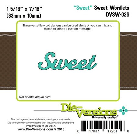 Die-Versions - Sweet Wordlets - Sweet