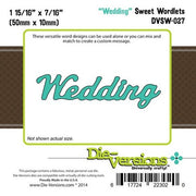 Die-Versions - Sweet Wordlets - Wedding