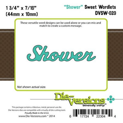 Die-Versions - Sweet Wordlets - Shower
