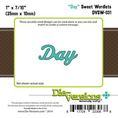 Die-Versions - Sweet Wordlets - Day