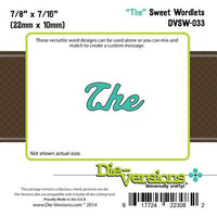 Die-Versions - Sweet Wordlets - The