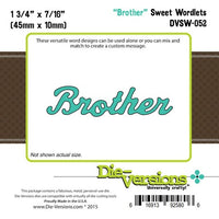 Die-Versions - Sweet Wordlets - Brother